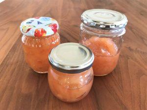 写真:りんご保存食 りんごジャム