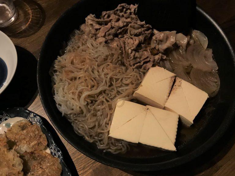 写真:至高の肉豆腐、できました