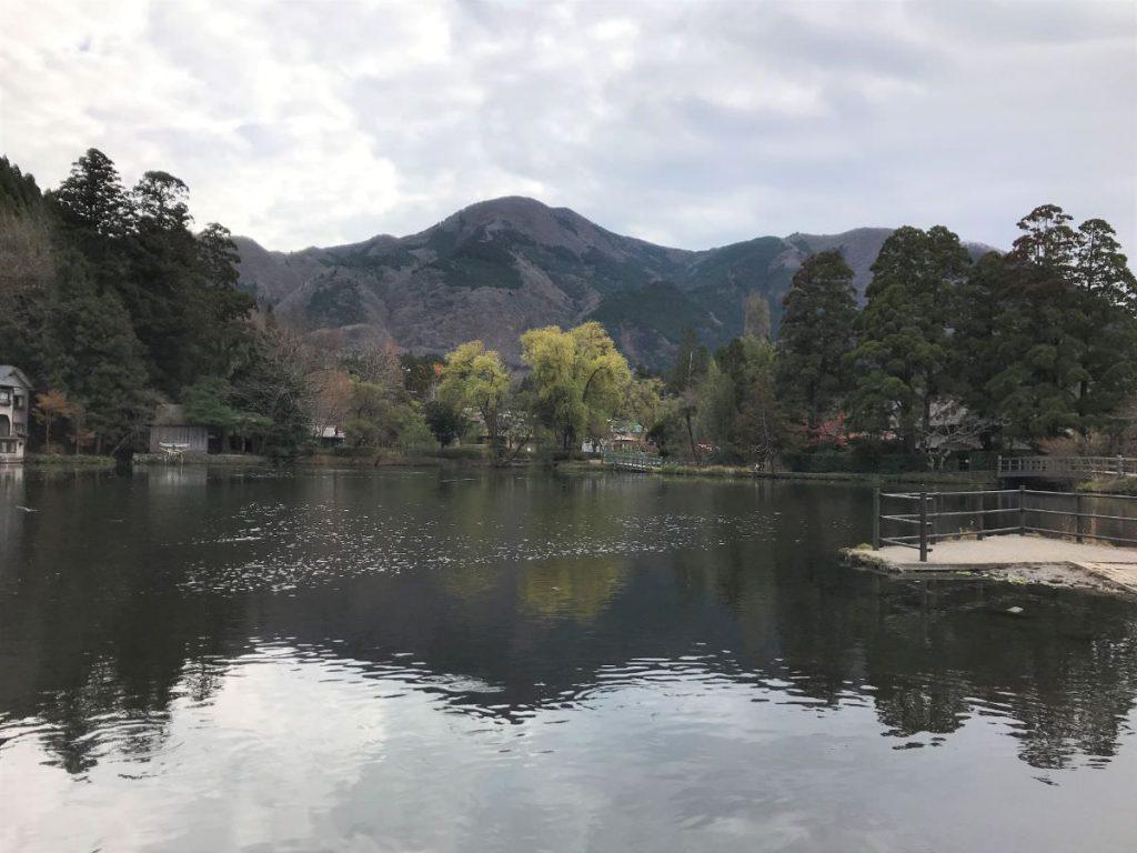 写真:大分由布院の金鱗湖