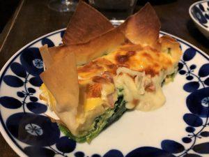 写真:春巻キッシュチーズたっぷりバージョン