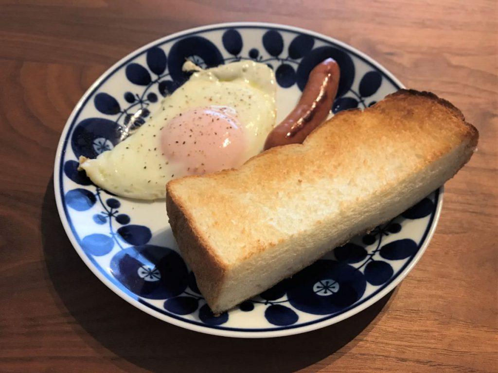 写真:業務スーパー イギリス食パン トーストしました