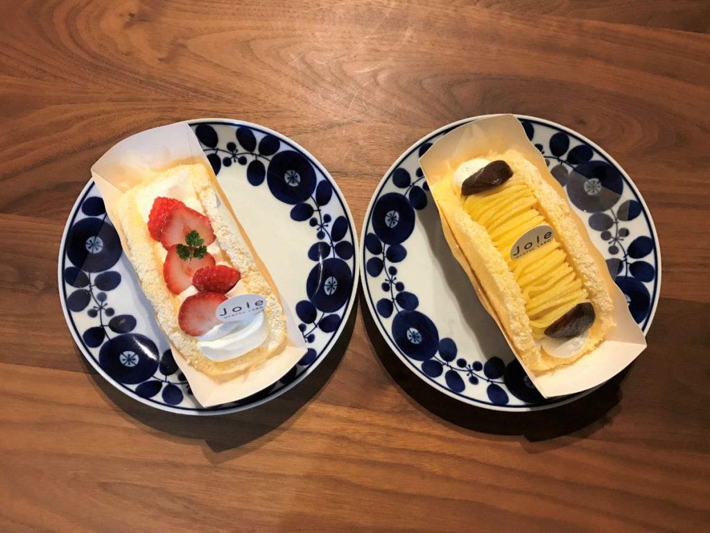 写真:福岡糸島「おやつラボ・ジョワ」のオムレット2種