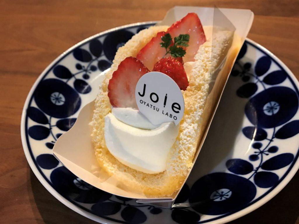 写真:福岡糸島「おやつラボ・ジョワ」イチゴのオムレット