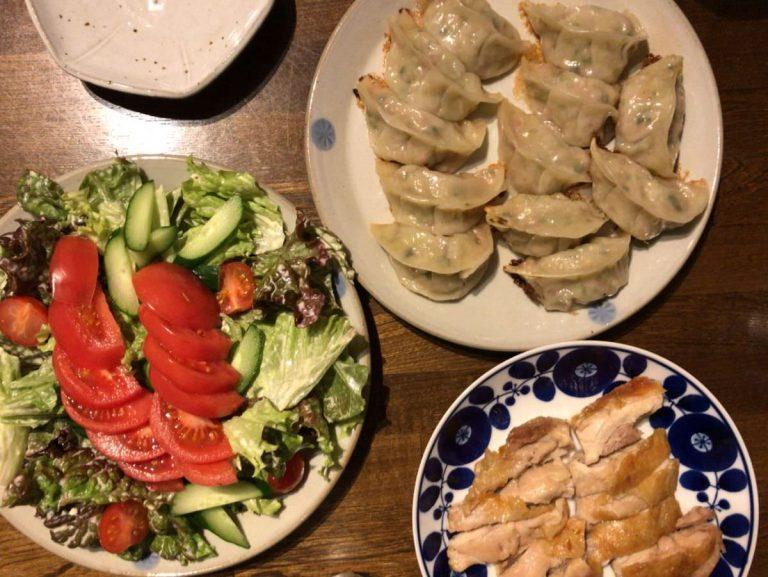 写真:ある日の夕食
