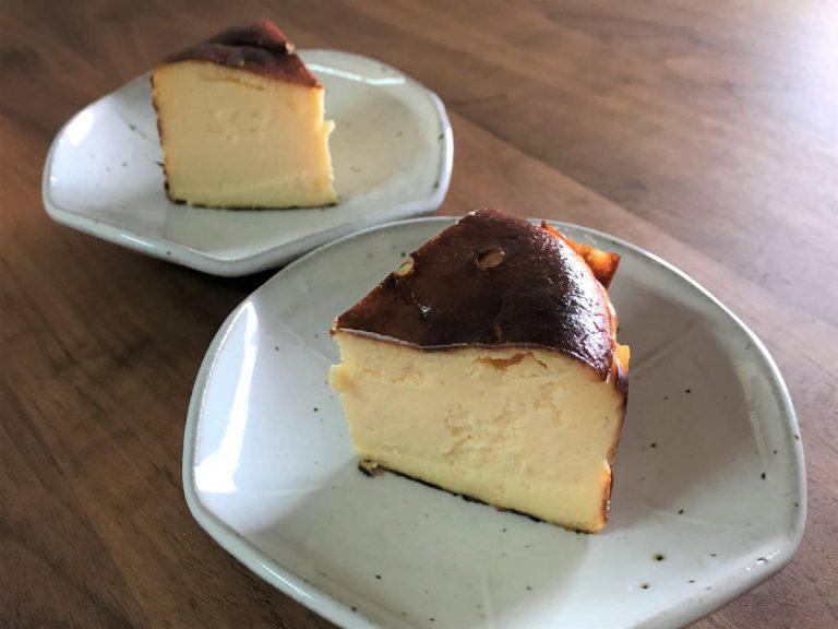 写真:香のかのバスクチーズケーキ