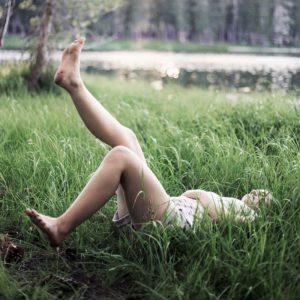 写真:美しい脚イメージ