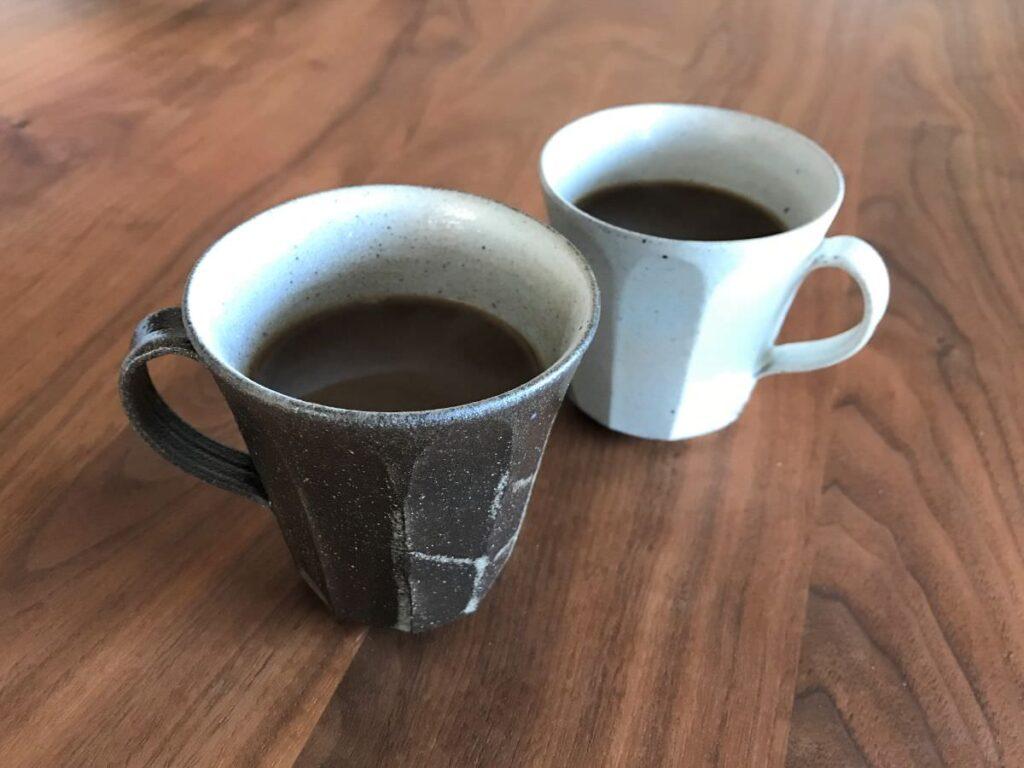 写真:白華窯(吉永サダムさん)のマグカップ
