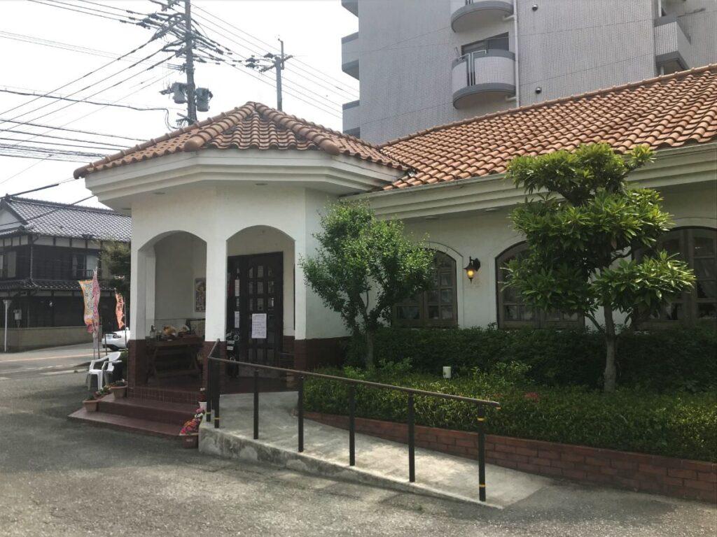 写真:福岡市西区 レストラン加里部 外観