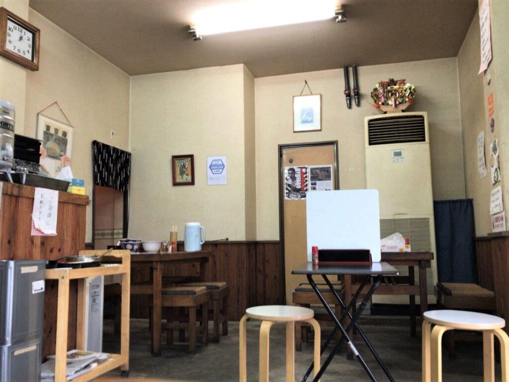 写真:福岡久留米「東京庵」店内