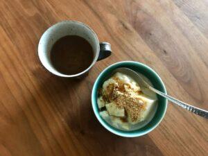 写真:豆花とコーヒーのおやつ