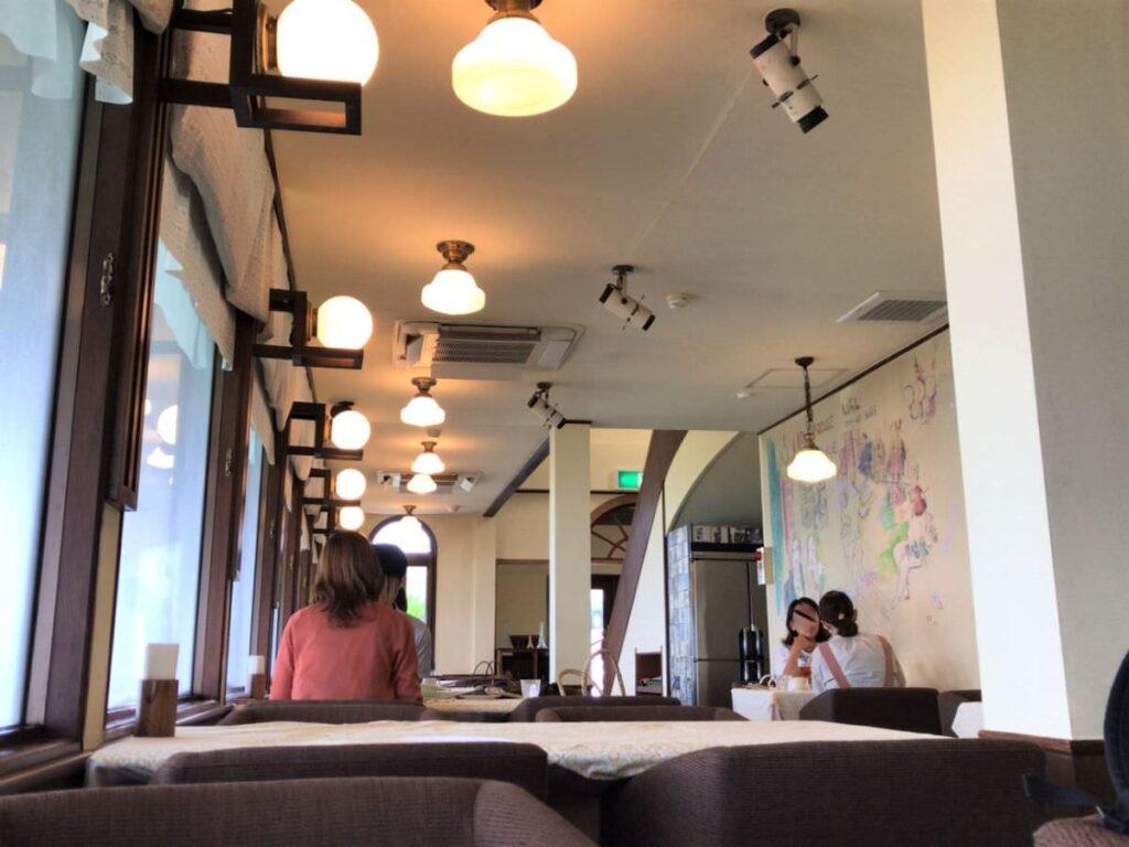 写真:長崎諫早 パスタクラブフェローズ 店内の様子