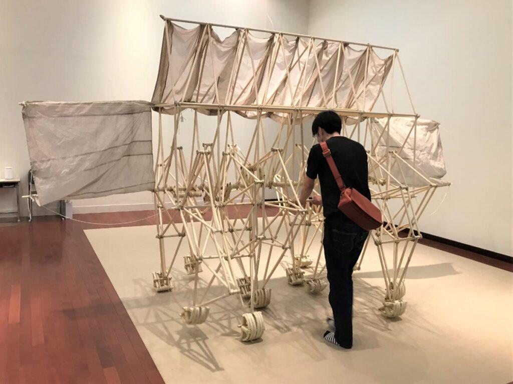 写真:熊本市現代美術館 テオ・ヤンセン展