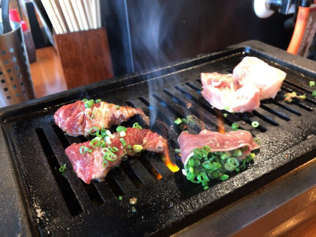 写真:福岡糸島 やまにくの焼肉ランチ
