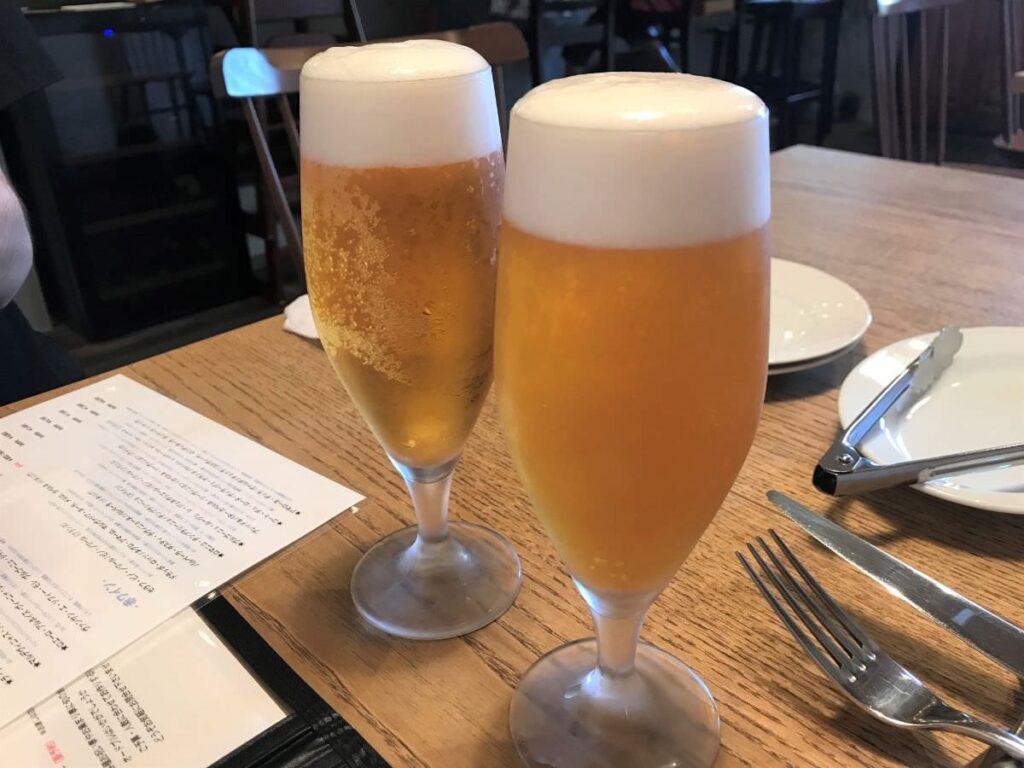 写真:福岡糸島 noda 生ビール