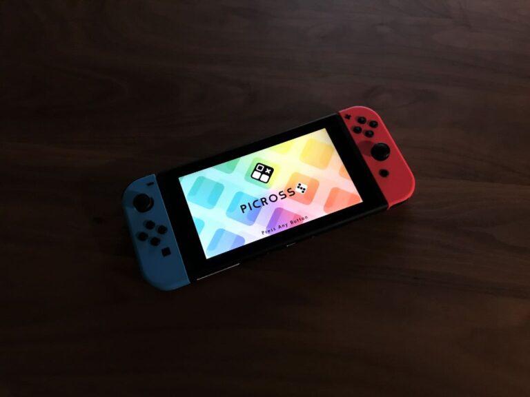写真:任天堂Switch ピクロスS