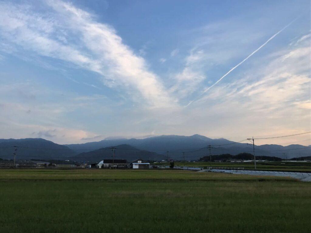 写真:糸島の秋の実り風景