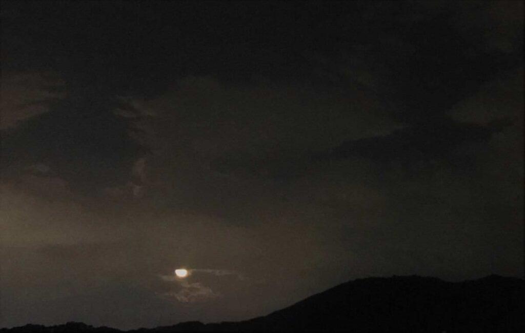 写真:今日の福岡の中秋の名月…
