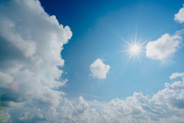 写真:いい天気イメージ